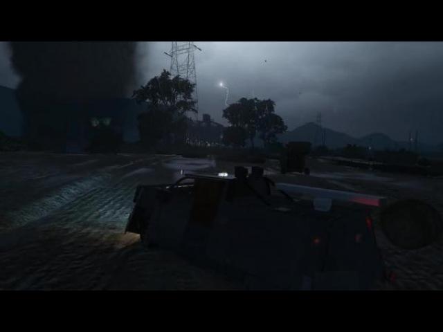 Охотник за торнадо в GTA 5 !