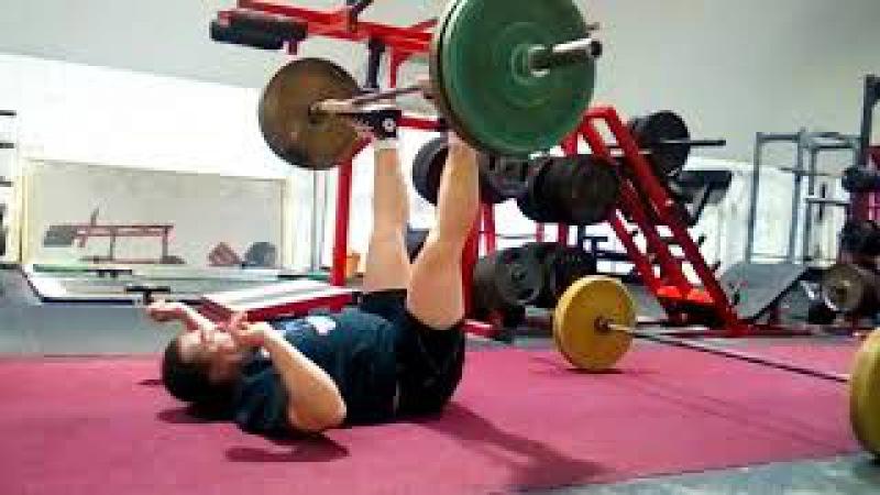 Self Loaded Leg Press 25X131kg