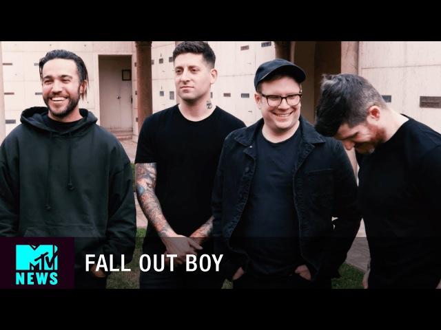 Fall Out Boy On Their New Album, M A N I A Collabing Through WhatsApp | MTV News