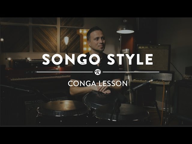 Latin Beats: Songo Style on Two and Three Congas | Reverb Drum Lesson w/ Peter Vale