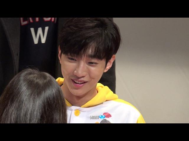 171224 B1A4 비원에이포 Rollin'팬사인호 명동 뮤직아트 in 중구청소년수련관 진영focus 2