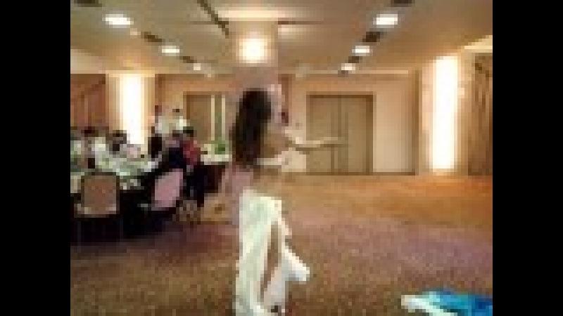 Элен Танец с вейлами на свадьбе