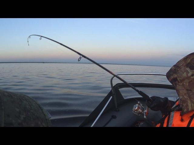 Рыбалка на Ладоге 18.06.2017 - сом на 9кг