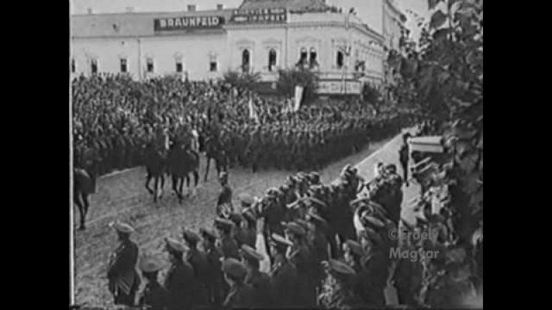 KOLOZSVÁR (Transylvania) - DÍSZSZEMLE - Hungarian Military Parade-1940. szept.15
