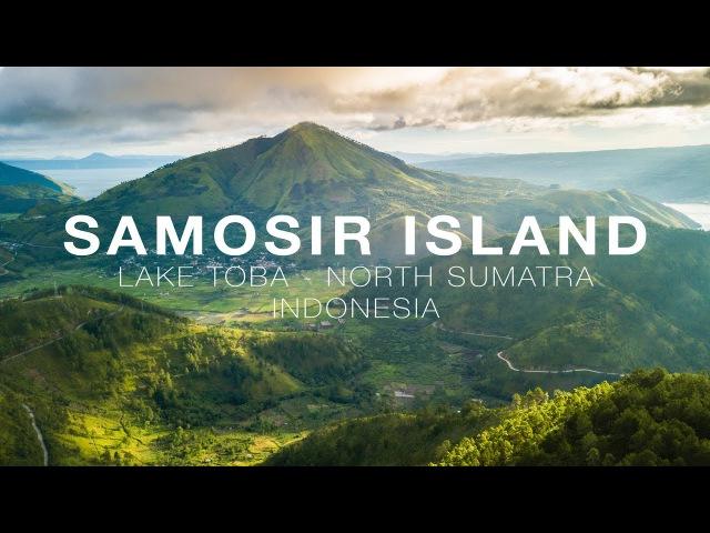 Samosir Island, Lake Toba Aerial in 4K (DJI Mavic Pro)
