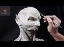 Sculpting Raziel Soul Reaver Legacy of Kain UV Special Timelapse Sculpt and Airbrush Demo
