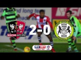 Exeter City 2 Forest Green Rovers 0 (31118) EFL Sky Bet League Two Highlights