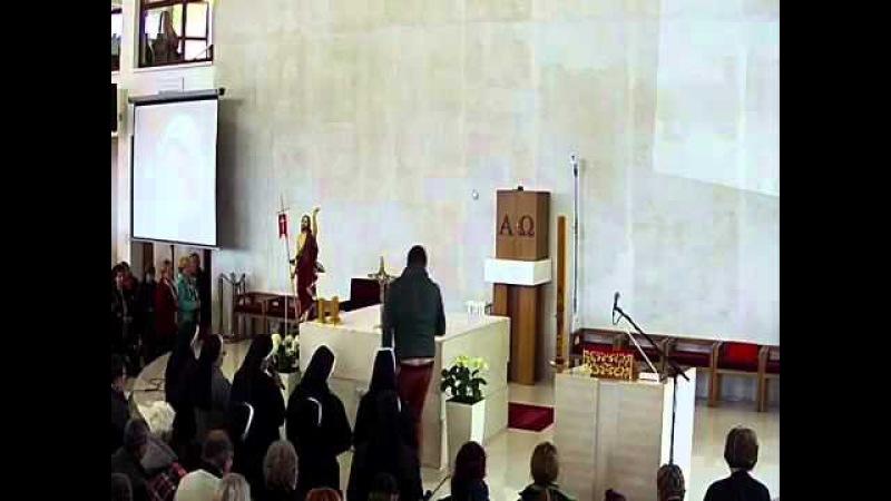 Венчик к Божьему Милосердию, 23 апреля 2016 г в Словакии, в Турзовке