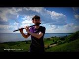 Гармония звука - Флейта Мирра в Ре из палисандра. Импро