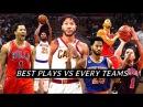 Derrick Rose Best Plays VS Every NBA Teams