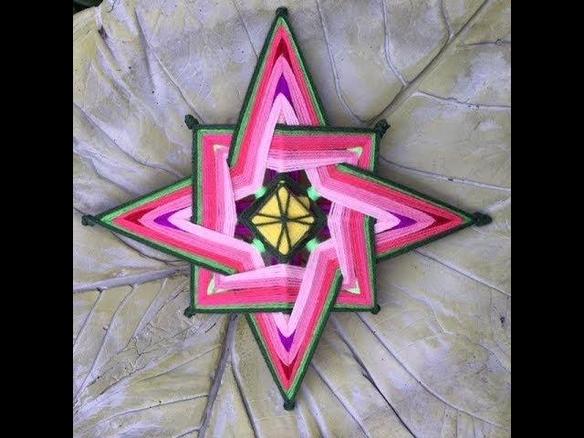 Mandala Estrella Cardinal