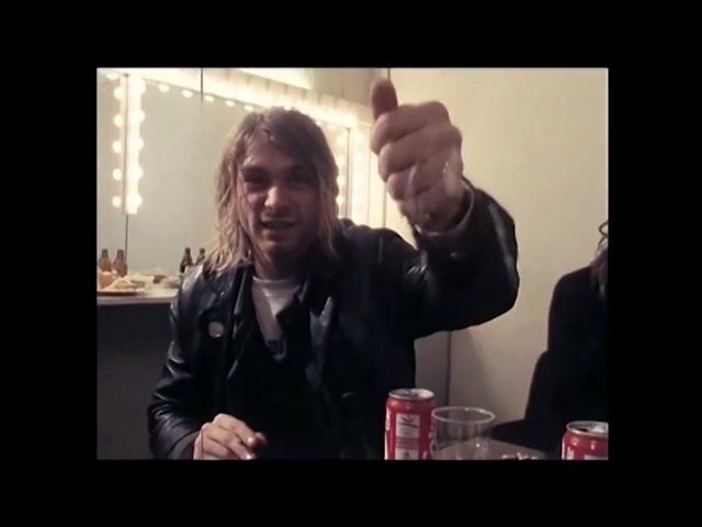 Nirvana (interview) - November 23, 1991, Ghent, Belgium (Kurt Cobain, Krist Novoselic, Dave Grohl)