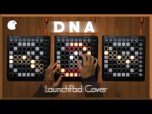 BTS(방탄 소년단) - DNA Triple LaunchPad Performance Lyrics