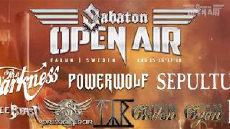 MMI confirmed to play Sabaton Open Air 2018!