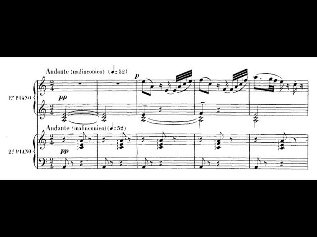 Saint-Saëns-Debussy - Introduction and rondo capriccioso for two pianos (audio sheet music)