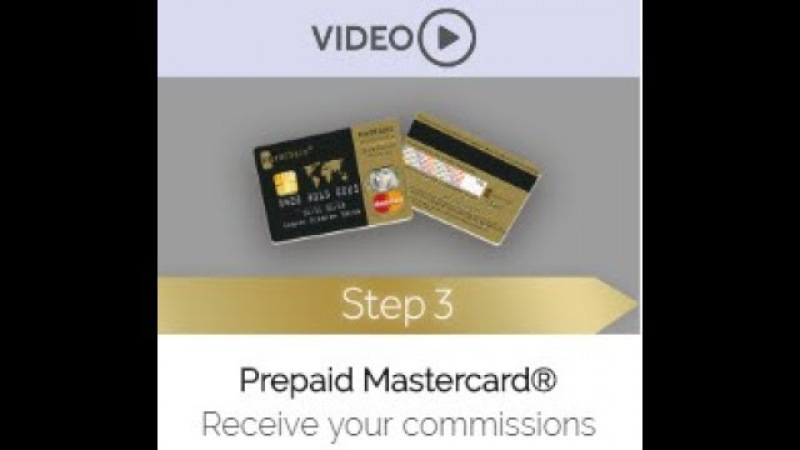 Karatbars Step 3 Debitcard