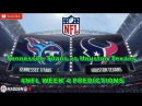 Tennessee Titans vs. Houston Texans   #NFL WEEK 4   Predictions Madden 18