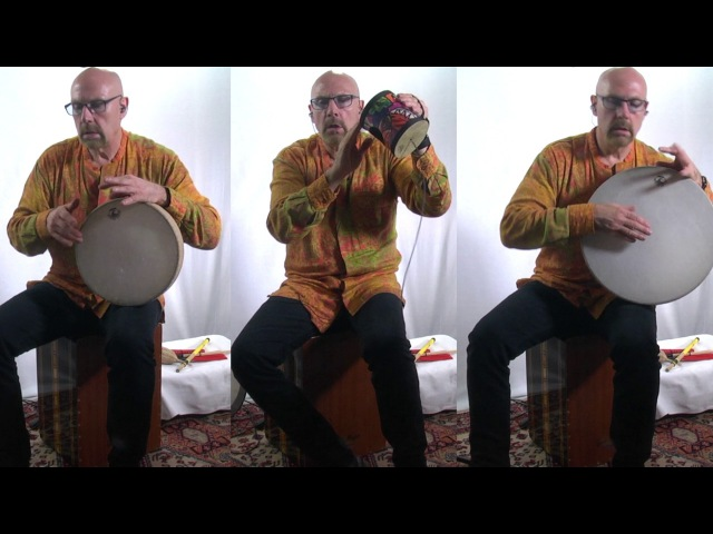Percussionist Tom Teasley Demonstrated The Remo Ocean Drum