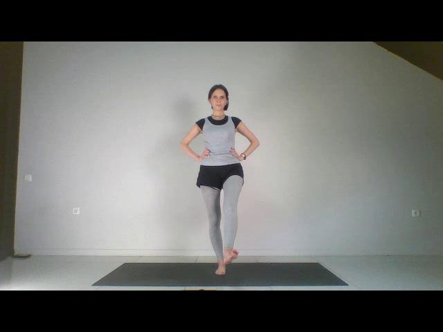 Йогатерапия позвоночник мышцы суставы кровообращение Урок 9 Плоскостопие