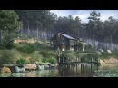 Making of forest lake Environment modeling