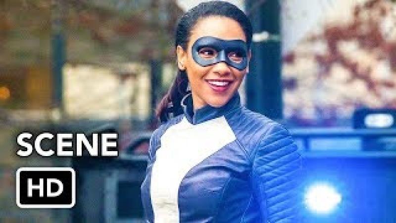 The Flash 4x16 Speedster Iris vs Metahuman Scene (HD)