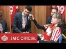 Behind The Scenes: SAFC v Aston Villa