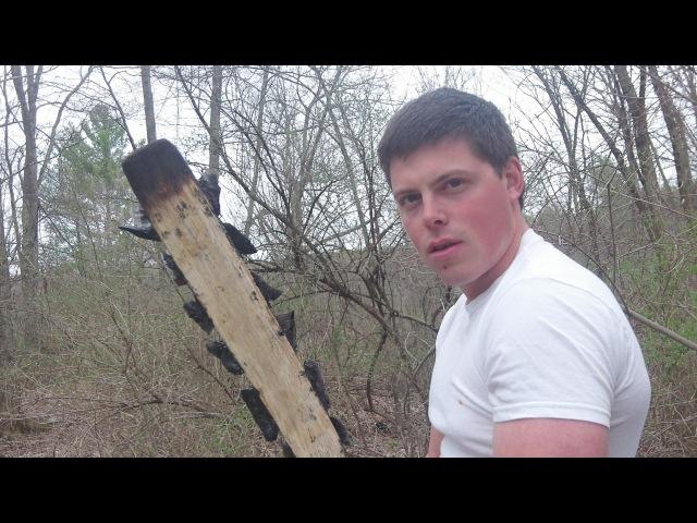 Making A Crazy Weapon! The Aztec Sword ( Macuahuitl )