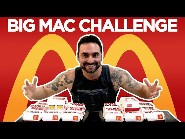 Desafio 20 Big Macs [Especial 100k]
