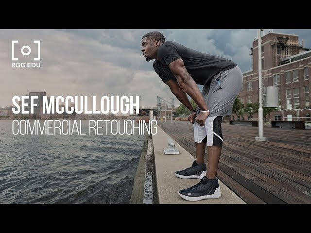 Commercial Retouching Workflow For Adobe Photoshop with Sef McCullough | RGG EDU Master Trailer