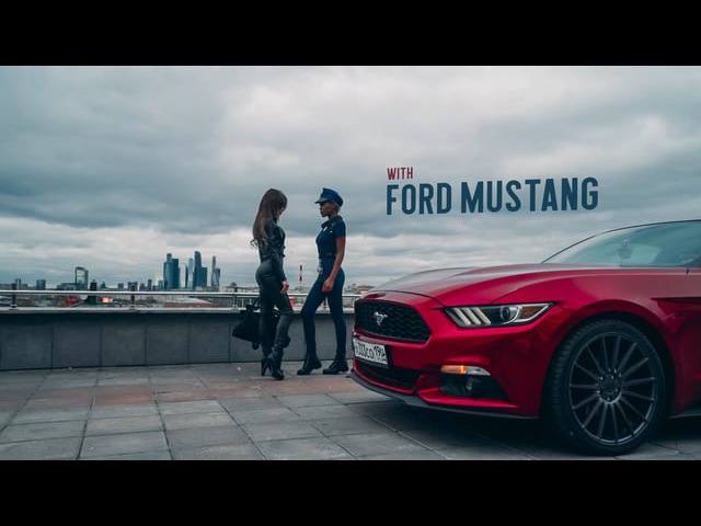 BE WILD WITH FORD MUSTANG | (by Alexander Grinev)