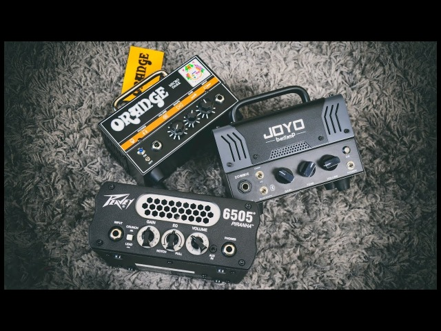 Micro Tube Amp Shootout! | Orange | Joyo | Peavey