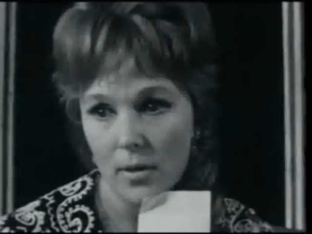 Фрагмент спектакля театра сатиры Доходное место,1967 г.