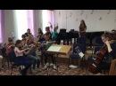 """27 мая 2017 г. Оркестр """"Мелодия"""". Наталия Шевцова- вокал."""