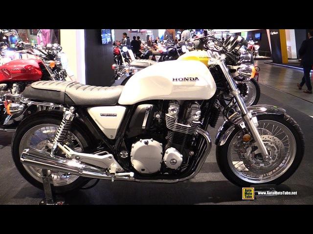 2017 Honda CB1100 EX - Walkaround - Debut at 2016 EICMA Milan