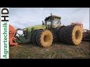JOHN DEERE CLAAS Traktoren in Action Mehr Gummi auf den Achsen geht nicht