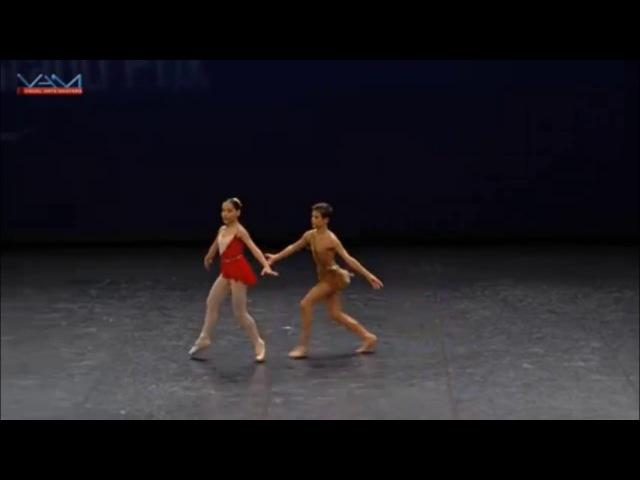 Antonio Casalinho Pas de Deux with Laura Viola YAGP 2017 Paris