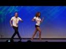Очень чувсвенный  танец! Сальса   бачата  Ataca Jorgie Jorge Burgos y La Alemana Tanja Kensinger