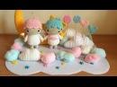 Little twin stars Amigurumi tutorial schema How to crochet Little twin stars amigurumi