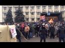 19 февраля 2014. Одесса. Противостояние майдана и антимайдан