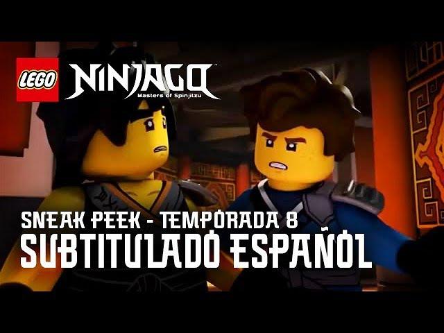 Ninjago Temporada 8: Sneak Peek 2 (Sub. Español)