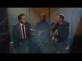 Jack Johnson And Stephen Colbert Perform