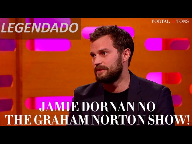 LEGENDADO: Jamie Dornan no The Graham Norton Show (Parte 1)