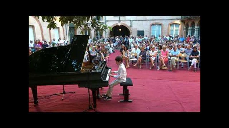 Constant Despres, 10 ans, Haydn, Sonate 23 1er mvt