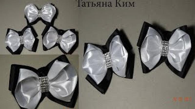 Бантики из Лент на 1 сентября Bows made of ribbons