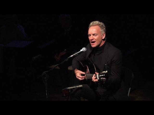 Benvenuto Brunello 2018 Sting canta Message in a Bottle