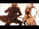 Gintama - Gintoki vs Okita (Maganagi) [Funny Moment FULL HD]