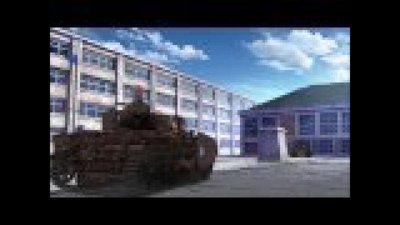 Girls und panzer AMV - Hammerfall Last man standing (Miho vs Maho tribute)