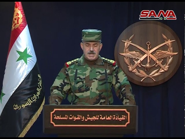 Statement of the army leadership on the restoration of security and stability to the city of Deir al-Zour