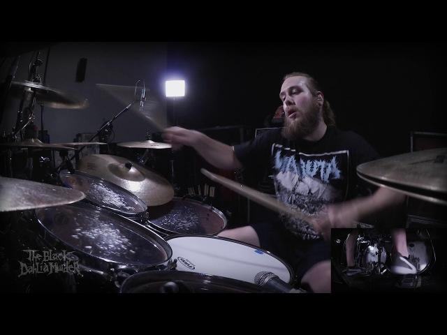 Alan Cassidy - The Black Dahlia Murder - Jars Pro Shot Drum Play Through