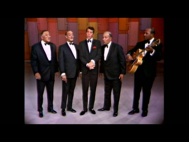 Dean Martin The Mills Brothers - Up A Lazy River - LIVE